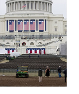 Lincoln Memorial Welcome Event construction by Presidential Inaugural Committee, on Flickr